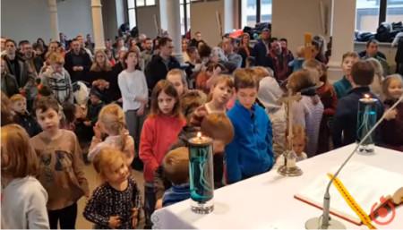 Msza św. dla dzieci przedszkolnych (Kaplica Św.Krzysztofa) - o. Recław