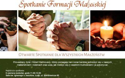 Spotkanie formacji małżeńskiej